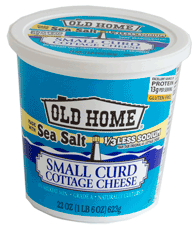 Lovely Small Curd Cottage Cheese With Sea Salt