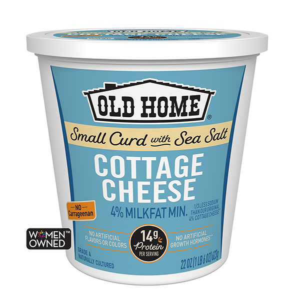 SMALL CURD COTTAGE CHEESE WITH SEA SALT